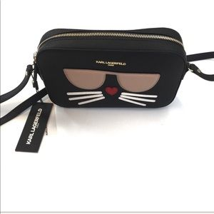 Karl Lagerfeld Crossbody Bag W Choupette Cat Face